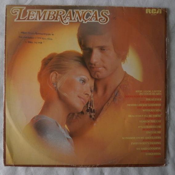 Lp Lembranças 1983 Vol.2, Disco De Vinil Coletânea Romãntica