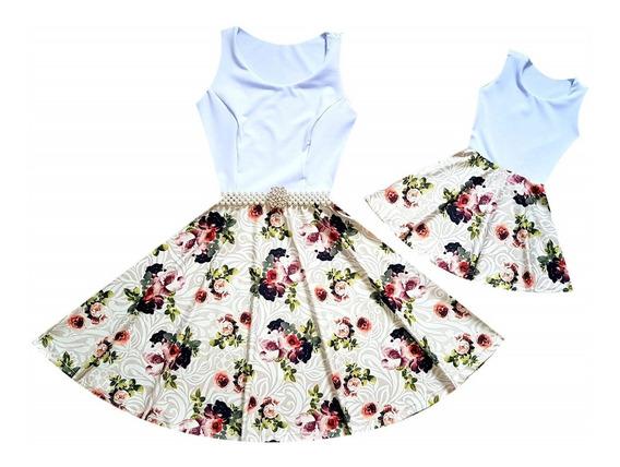 Vestidos Tal Mãe Tal Filhas Plus Size 1 Adulto + 2 Infantis