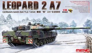 Meng - Germany Main Battle Tank Leopard 2 A7 (montado)