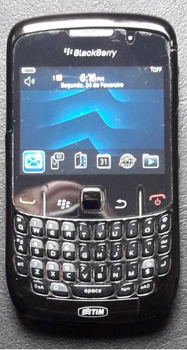 Blackberry Curve 8520 Preto Desbloqueado Com Caixa Cd Manual
