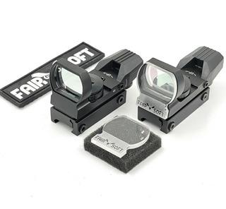 Protetor Acrilico Reddot Titan Airsoft 4mm + Patch Fairsoft
