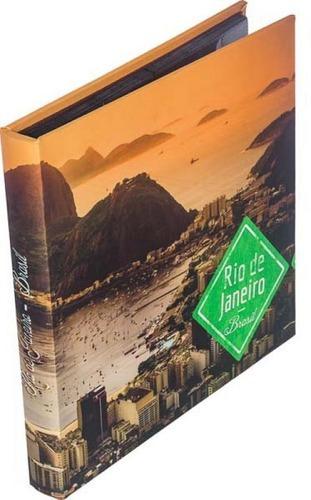 Album Seda Para 288 10x15 Pão De Açucar 34x34x4cm
