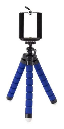 Imagem 1 de 6 de Mini Tripe Flexivel E Dobravel Com Suporte Para Celular