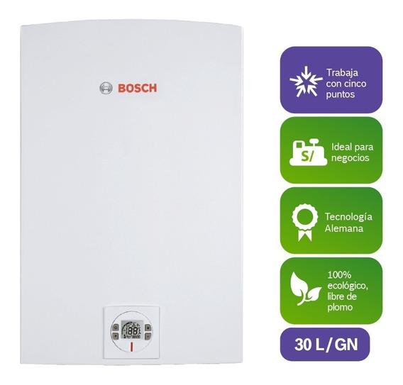 Calentador Bosch 30l World Ii-therm 8000 Gas Natural Premium