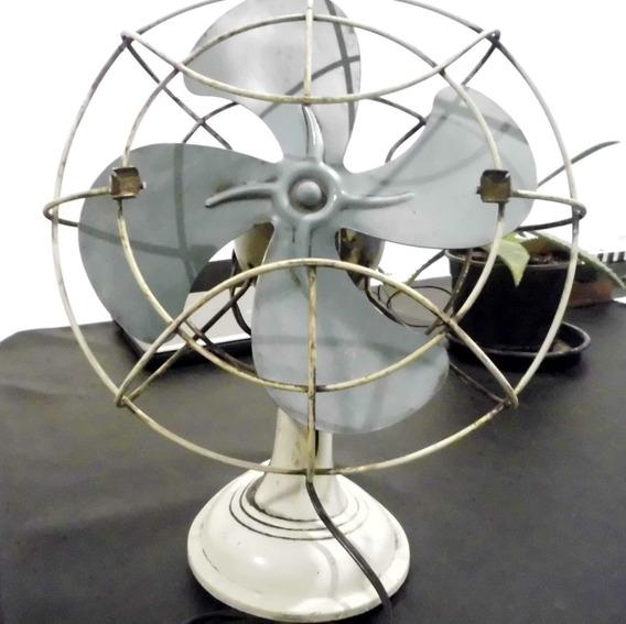 Ventilador Antiguo De Mesa