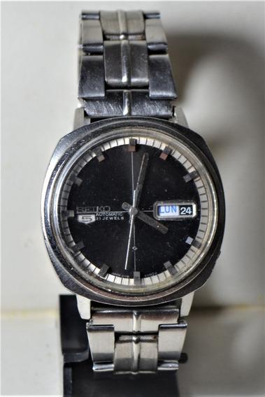 Relógio Masculino Seiko 5 21 Jewels 6119-8400