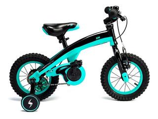Bicicleta Infantil Rodado 12 Nene Nena Aluminio 6173 6174