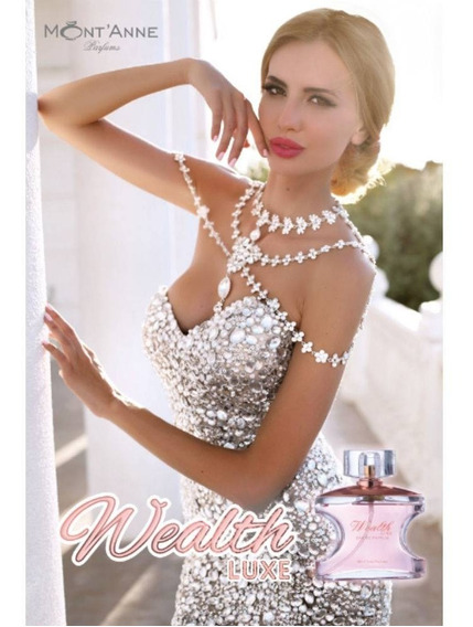 Perfume Wealth Luxe For Woman Edp 100 Ml Montanne