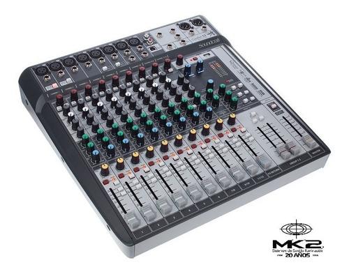 Soundcraft Signature 12 Mtk Consola 12canales Multitrack Usb