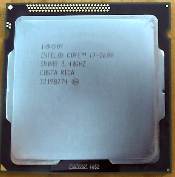 Processador Intel Core I7-2600 3.40 Ghz - 2ª Geração