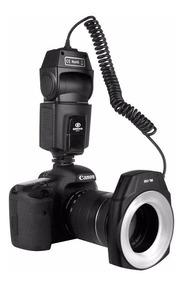 Flash Macro Ring Circular Godox Greika Ml-150 Canon Nikon