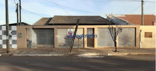 Casa À Venda, 240 M² Por R$ 350.000,00 - Parque Das Indústrias - Londrina/pr - Ca1471