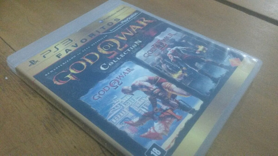 God Of War Colection Ps3 Usado Midia Fisica Playstation 3