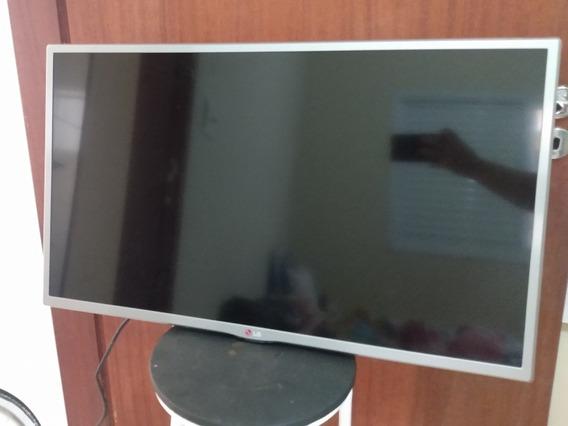Tv LG 32 Polegadas Com Tela Queimada