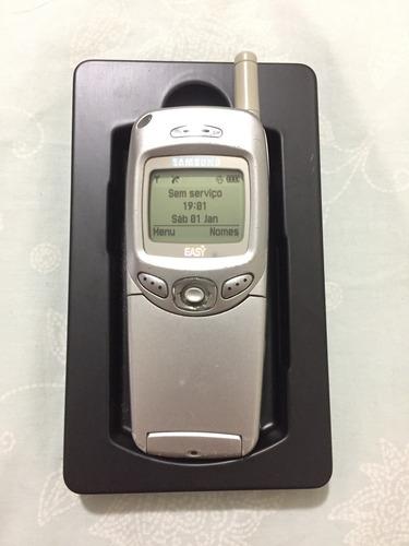 Celular Samsung Easy Original Tdma C/ Carregador Muito Raro