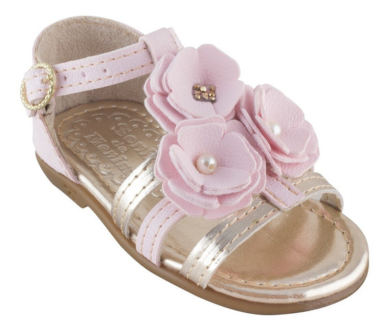 Sandalia Infantil Rasteira Rasteirinha Menina Cca Moda