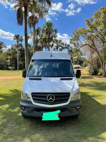 Imagem 1 de 9 de Mercedes-benz Sprinter Van 2.2 Cdi 415 Luxo Teto Alto 5p