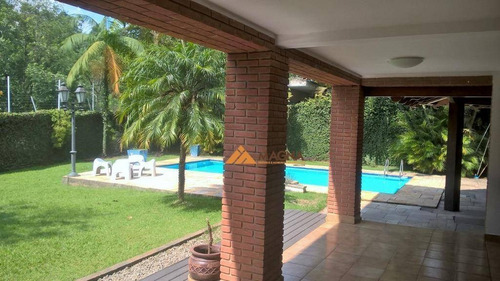 Casa Com 4 Dormitórios À Venda, 650 M² Por R$ 4.250.000,00 - Alphaville 01 - Barueri/sp - Ca2175