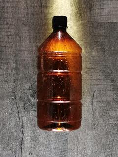 Envase Botella Cerveza Pet Ambar Litro 1000ml Envios Rígida!