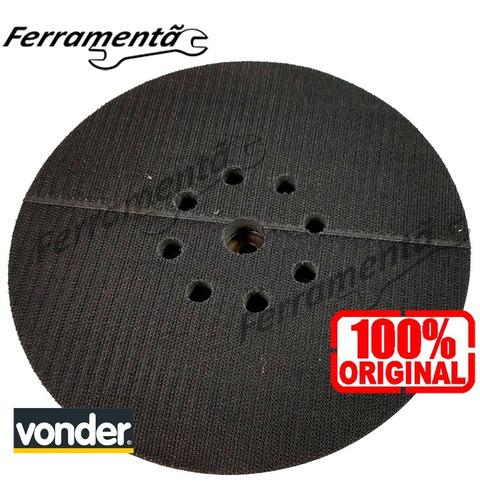 Imagem 1 de 3 de Disco Base Velcro Lixadeira Parede Vonder Lpv1000 Original
