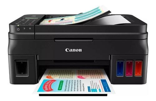 Impressora a cor multifuncional Canon Pixma G4100 110V/220V preta ...