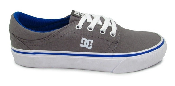 Tenis Dc Shoes Trase Tx Adys300126 Gbf Grey Blue Unisex