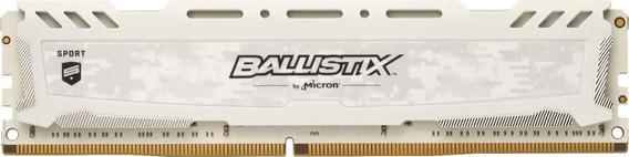 Crucial Ballistix Sport Lt 3000 Mhz Ddr4 Dram 16gb .blanca