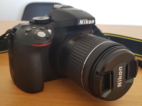 Câmera Nikon D5300 | 18-55 Vr Kit + Cartão De Memória 64gb