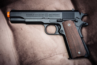 Airsoft Colt 1911 Geg Full Metal Blowback, Pistola A Gás
