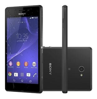 Celular Sony Xperia M2 Normal D2306 Vitrine Original