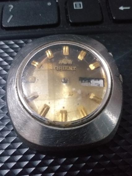 Relógio Orient Lindo Dourado Automático Peças Parado