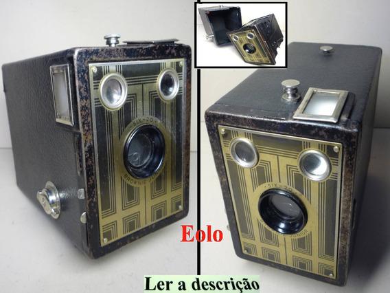 Kodak Box * Antiga Camera Bonita P/ Coleção Decoração Expo #