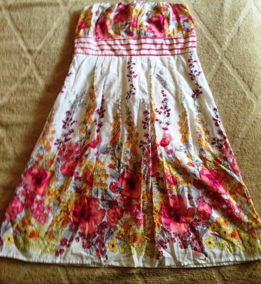 Vestido Forever 21 Mujer S Estampado Original Hermoso!!!!