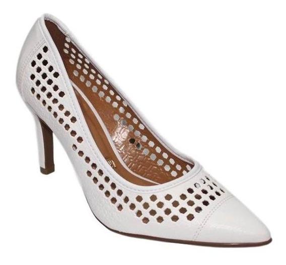 Sapato Scarpin Feminino Branco Noiva Vizzano 1306101