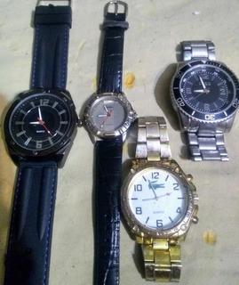 Relojes Grandes 004 Grandes X 4 Unidades Chinos