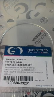 Empacadura De Camara Iveco 8360 115mm