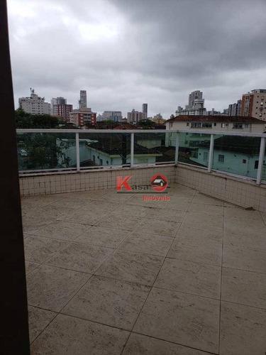Imagem 1 de 30 de Casa Com 4 Dormitórios À Venda, 270 M² Por R$ 950.000,00 - Vila Belmiro - Santos/sp - Ca0456