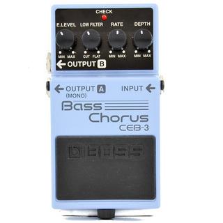 Pedal De Efecto Boss Ceb-3 Para Bajo Chorus Bass