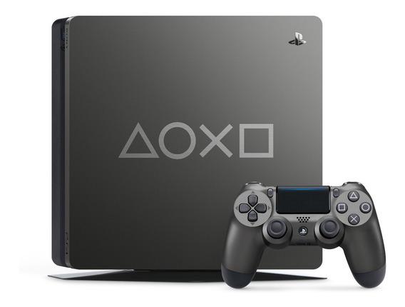 Console Playstation 4 Edição Limitada Days Of Play - Ps4