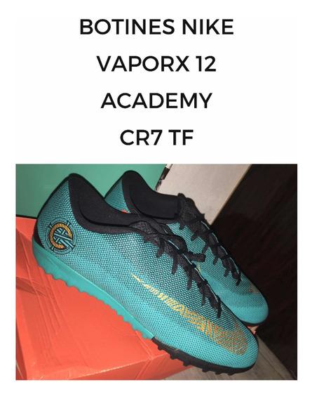 Botines Cr7 Nike Vaporx 12 Academy Cr7 Tf