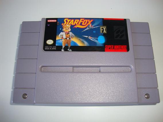 Star Fox Original Americano Para Super Nintendo