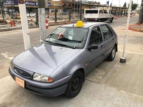 Ford Fiesta 1.3 Clx 1999 Unico Dueño Celeste 80000km Reales