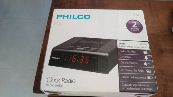 Radio Despertador Philco