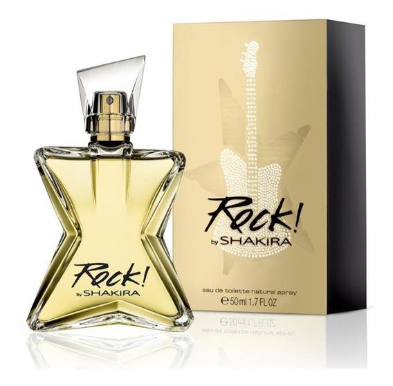 Perfume Shakira Rock Feminino Eau De Toilette 50ml