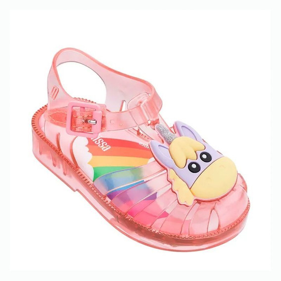 Sandália Infantil Mini Melissa Possession Unicorn