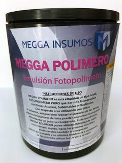 Emulsión Fotopolímero Megga Polimero X 1 Kg