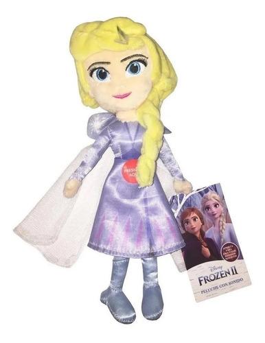 Disney Frozen Peluche Con Sonido 20 Cm Art 8512 By Creciendo