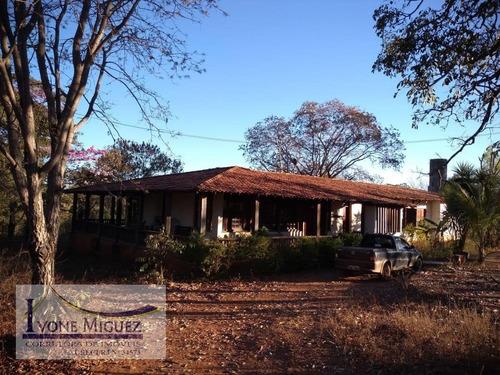 Imagem 1 de 15 de Fazenda Em Centro  -  Engenheiro Navarro - 2969