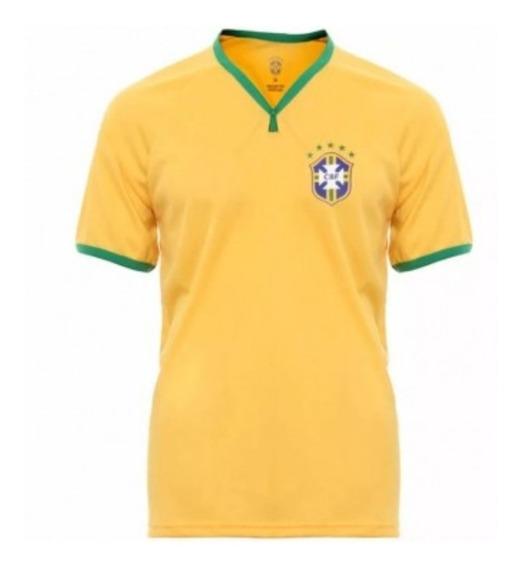 Camisa Selecao Brasileira Futebol Masculina Unissex Tamanh P