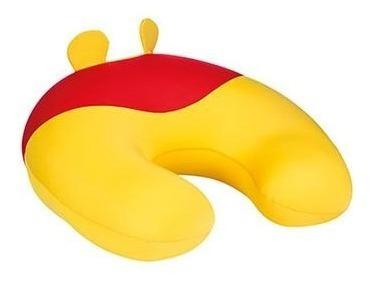 Almofada Floc De Amamentação Pooh Disney - Cor Amarelo